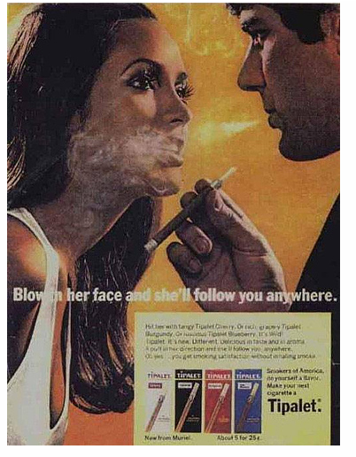 Lets blow nicotine in each others face!