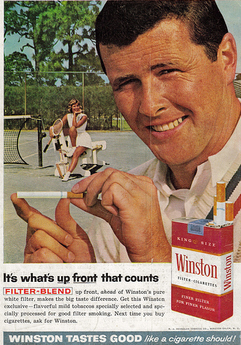 Tennis and Smoking, I don't thinkso!