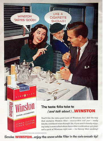 Winston Does not taste good!