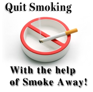 Quit smoking with the help of Smoke Away